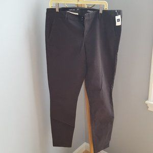 NWT GAP Charcoal gray khakis